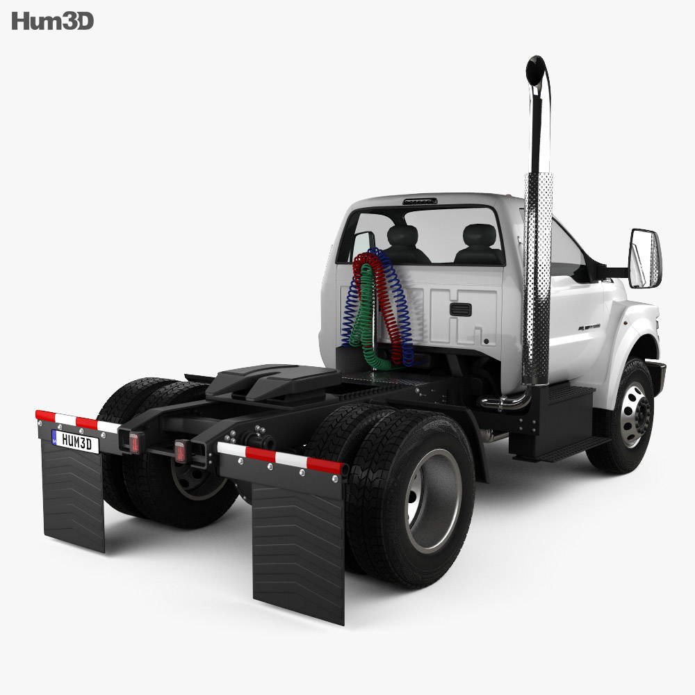 Ford F-650 / F-750 Regular Cab Tractor 2016 3d model
