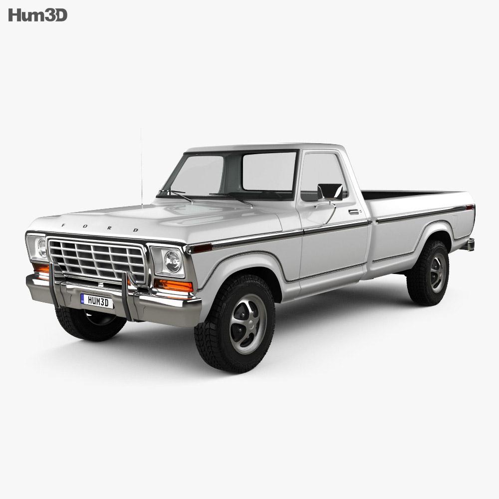 Ford F150 1978 3d model