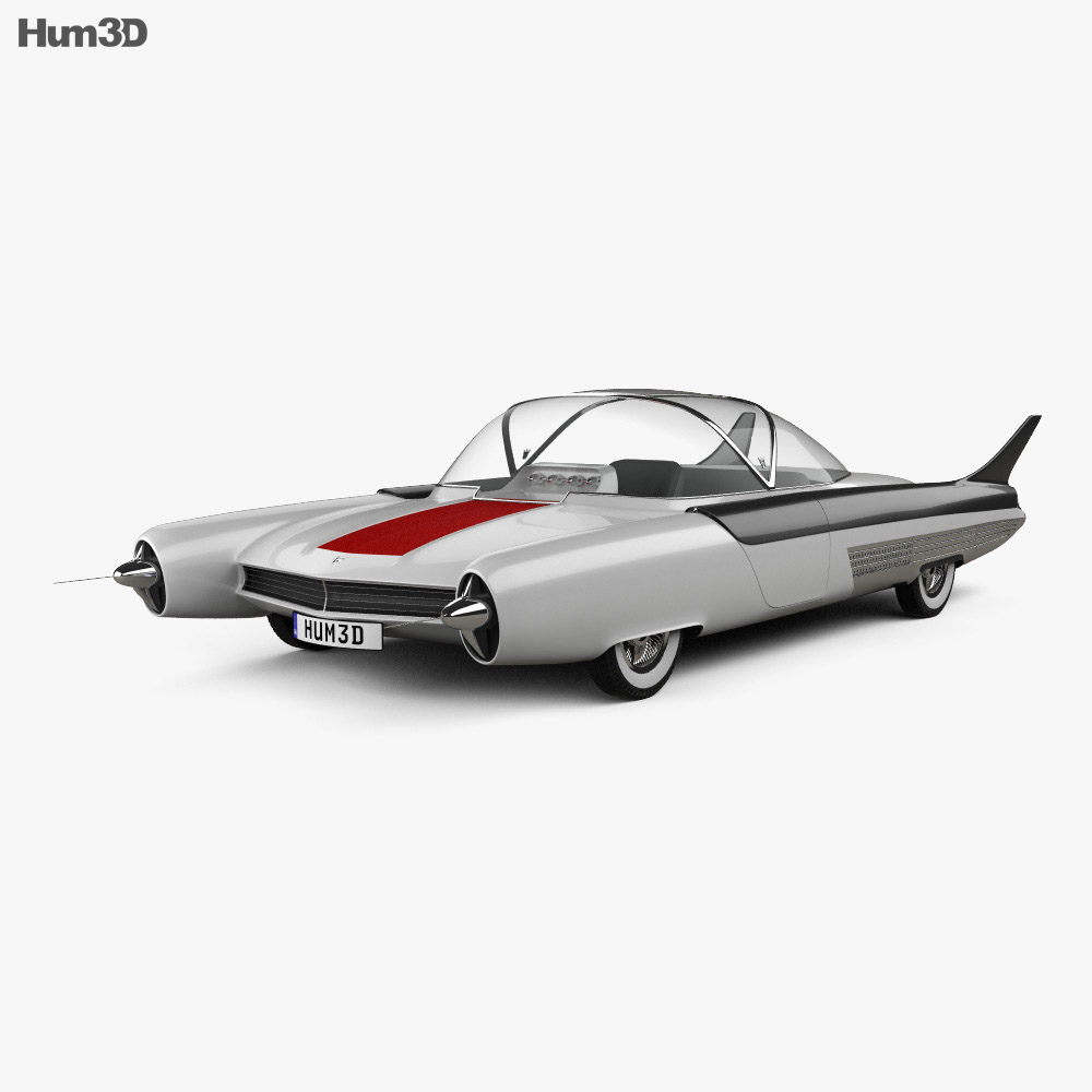 Ford FX Atmos 1954 3d model