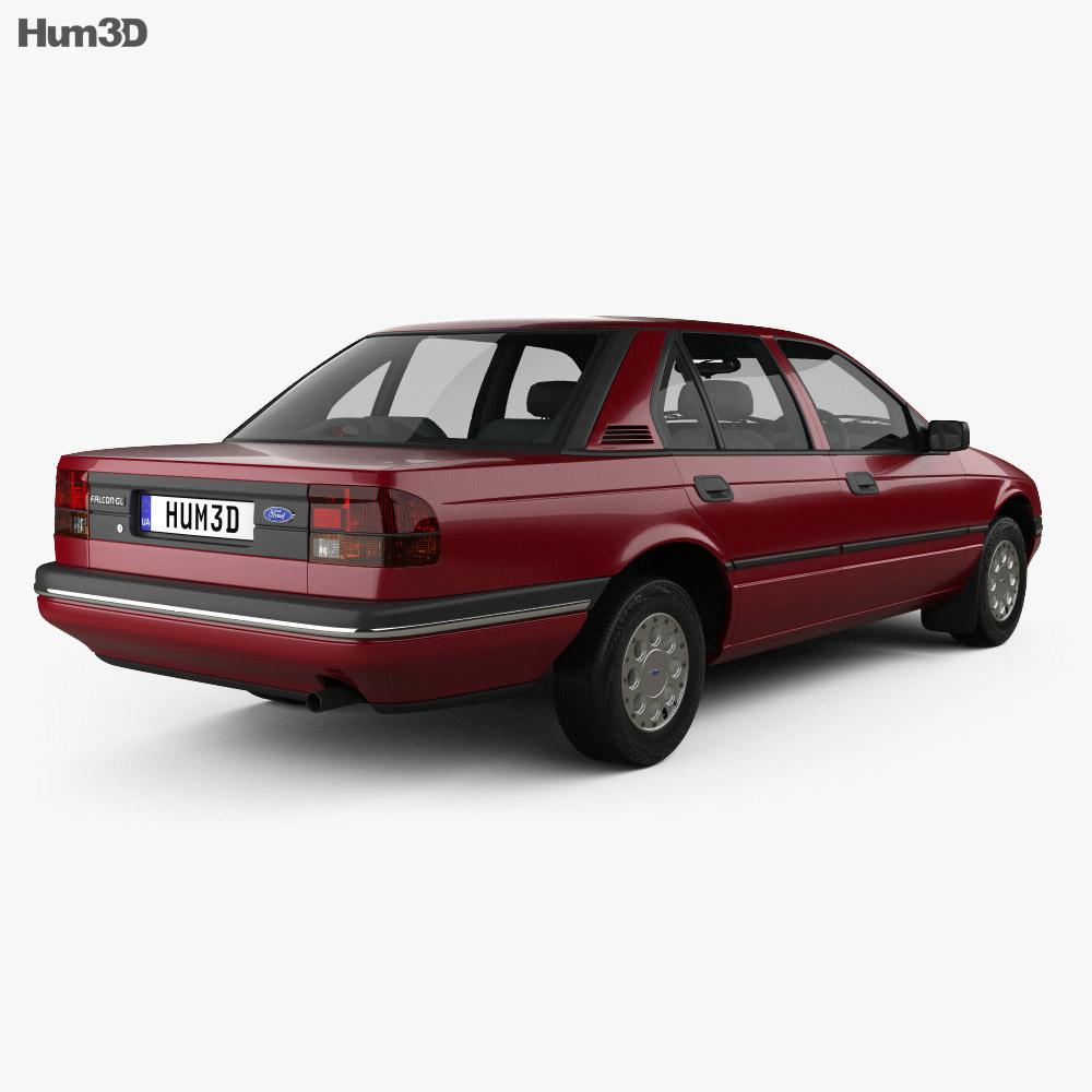 Ford Falcon 1988 3d model