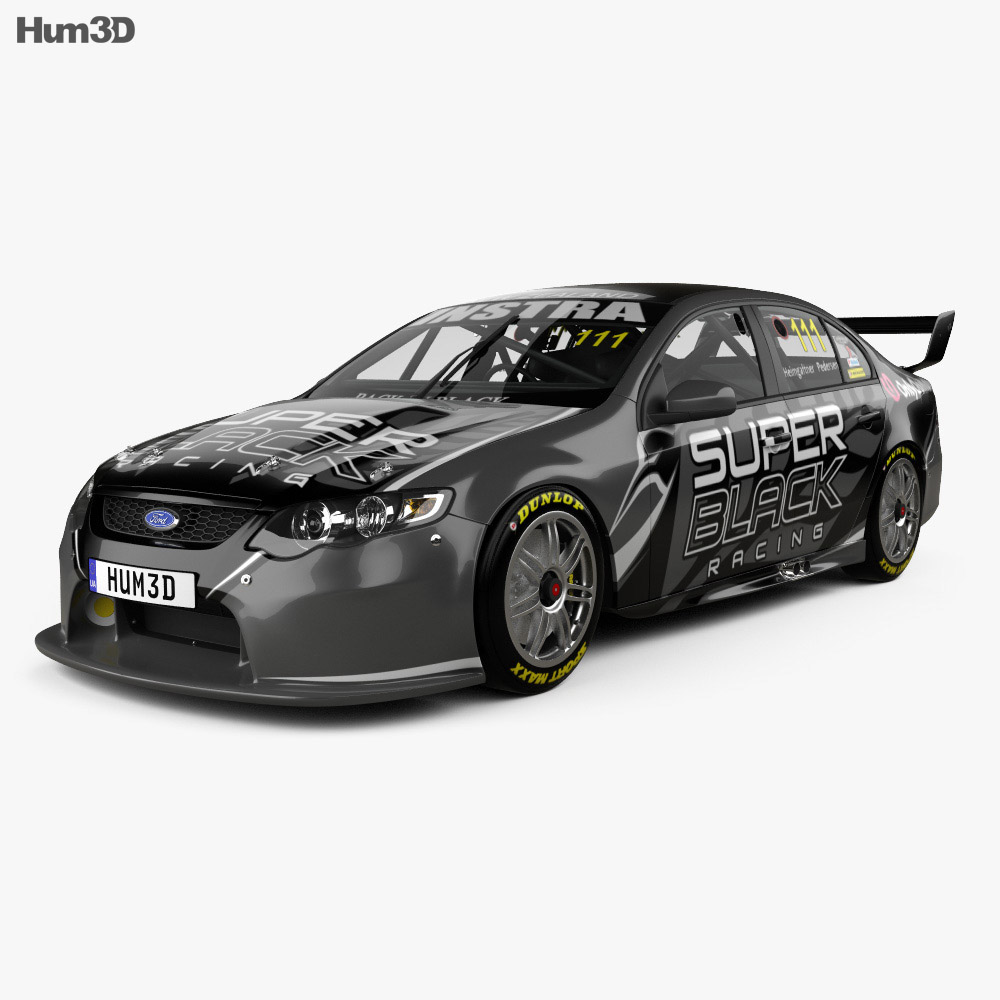 Ford Falcon (FG) V8 Supercars 2014 3d model