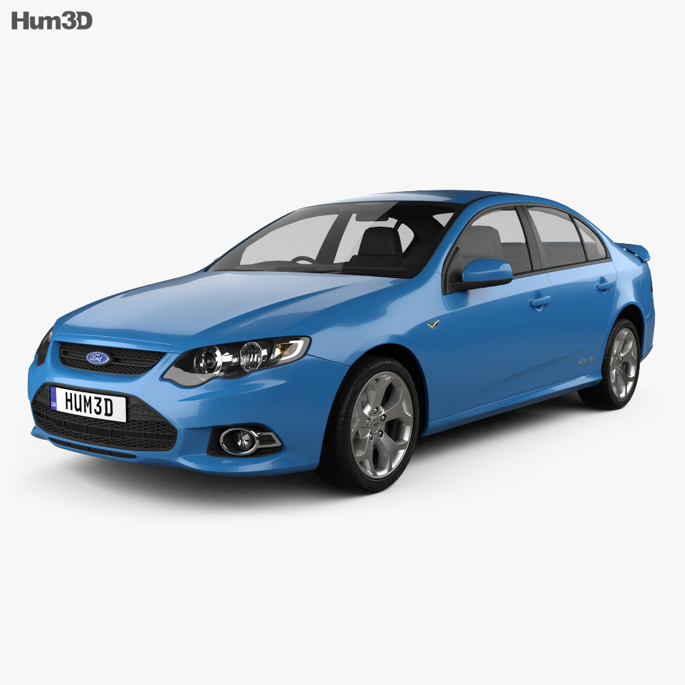 Ford FG Falcon XR6 sedan 2011 3d model