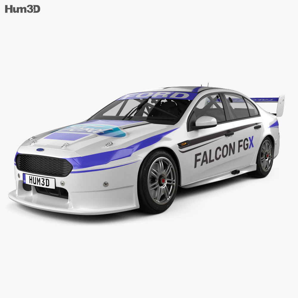Ford Falcon (FG) V8 Supercars 2015 3d model
