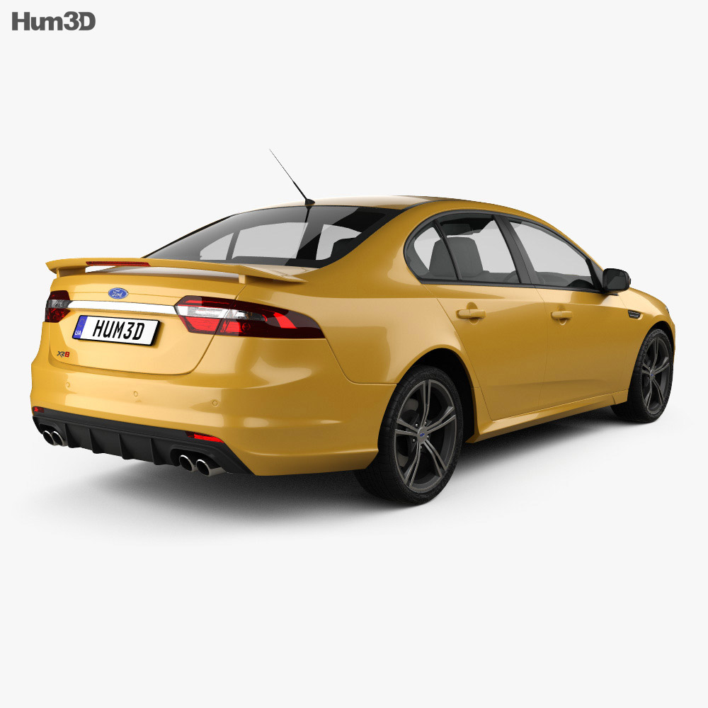 Ford Falcon (FG) XR8 2015 3d model