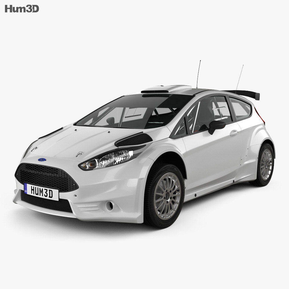 Ford Fiesta R5 3-door 2014 3d model