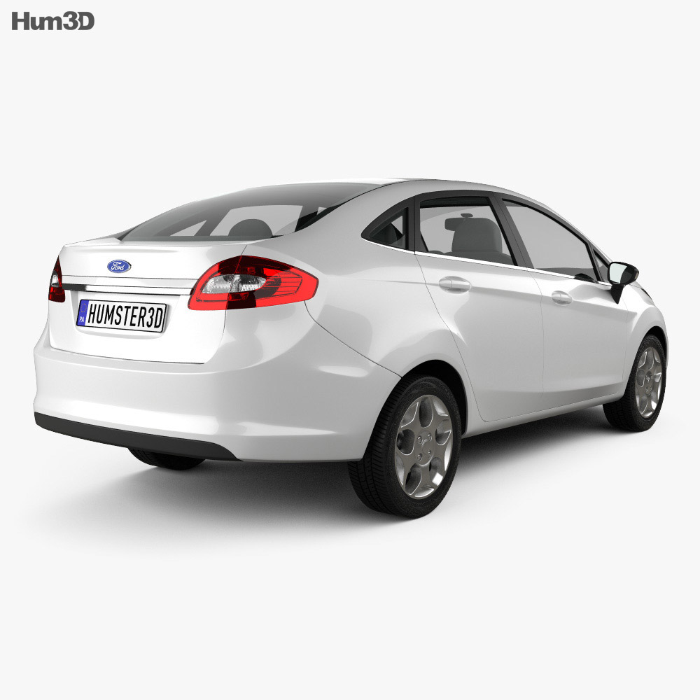Ford Fiesta Sedan (US) 2012 3d model