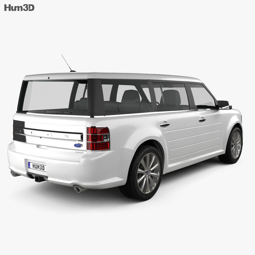 Ford Flex 2013 3d model