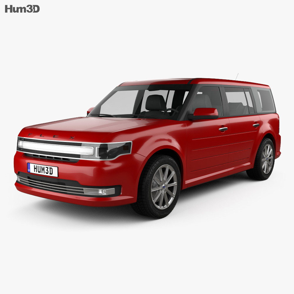 Ford Flex Limited 2013 3d model