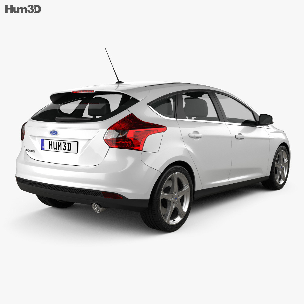 Ford Focus Hatchback 2011 3d model