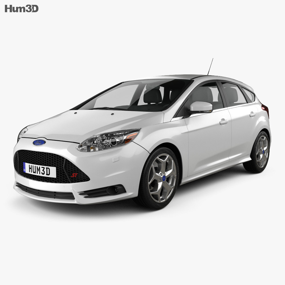 Ford Focus ST 2012 3d model