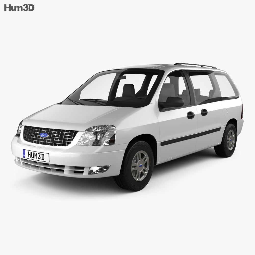 Ford freestar 2003 3d model