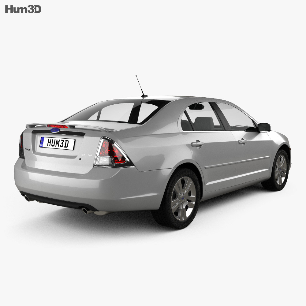 Ford Fusion SEL 2006 3d model