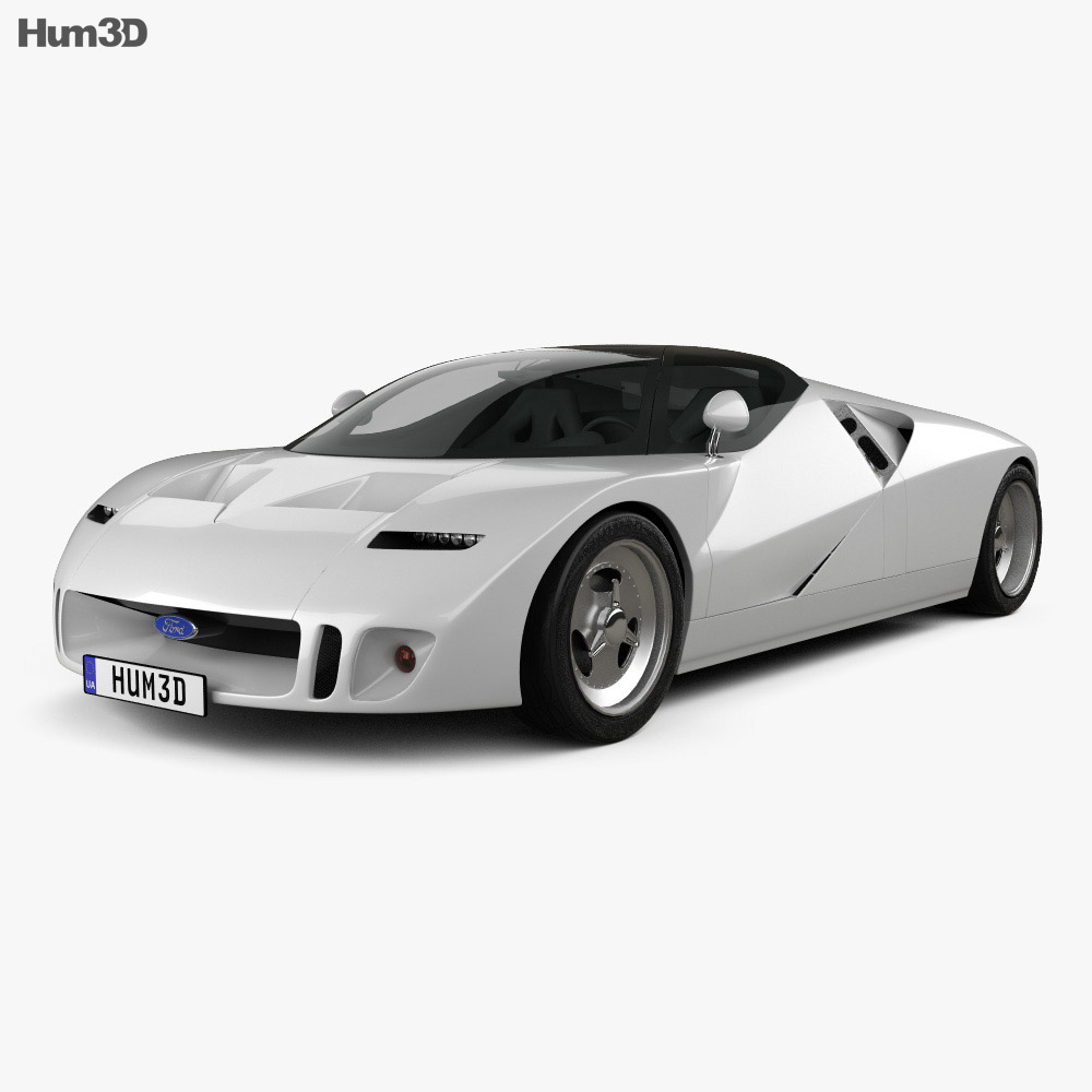 Ford GT90 1995 3d model