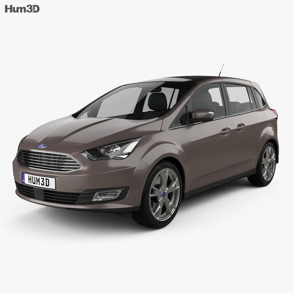 Ford Grand C-Max 2015 3d model