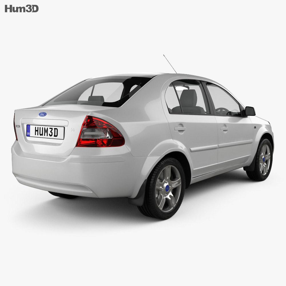 Ford Ikon 2012 3d model