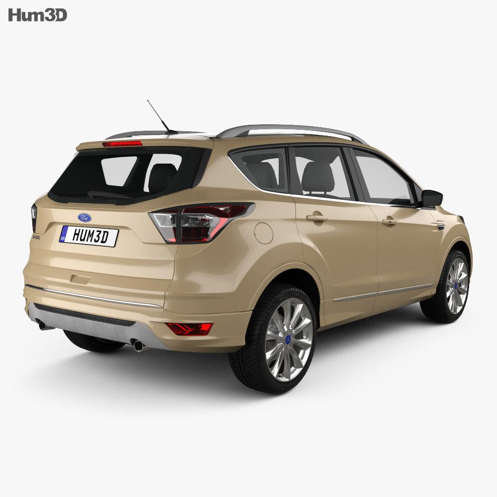 Ford Kuga Vignale 2016 3d model