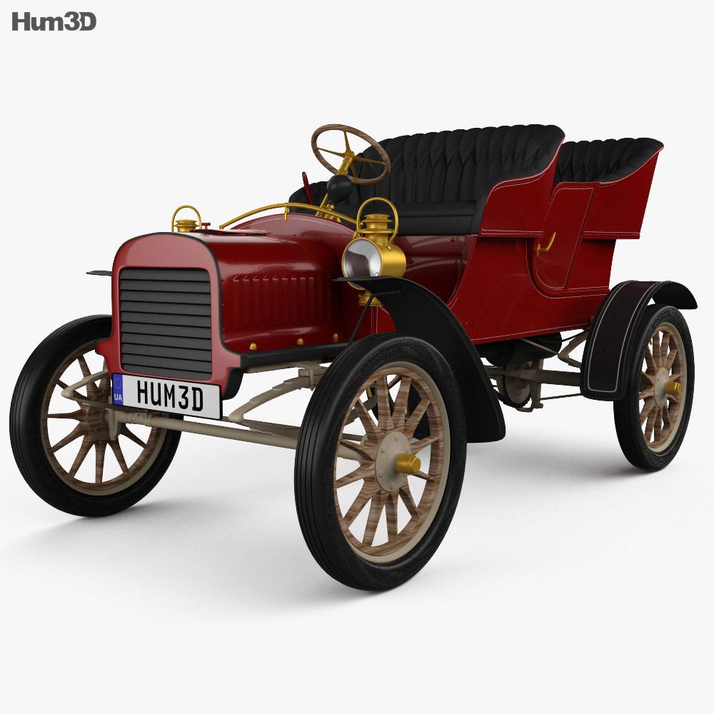 Ford Model C 1904 3d model