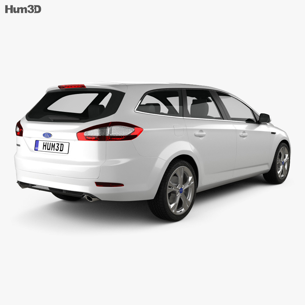 Ford Mondeo wagon 2011 3d model