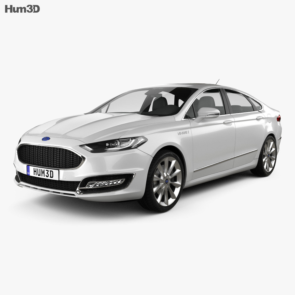 ford mondeo fusion vignale 2015 3d model humster3d. Black Bedroom Furniture Sets. Home Design Ideas