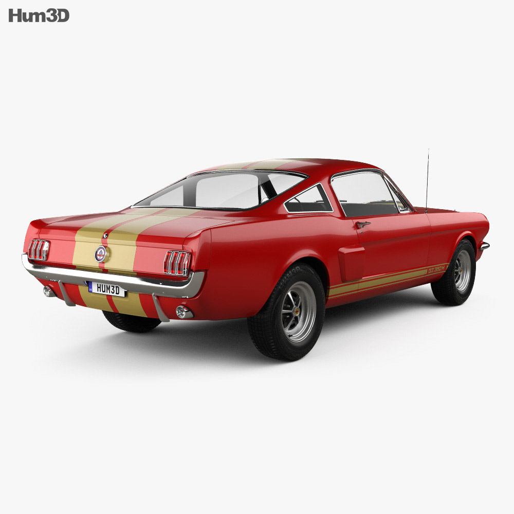 Ford Mustang 350GT 1969 3d model