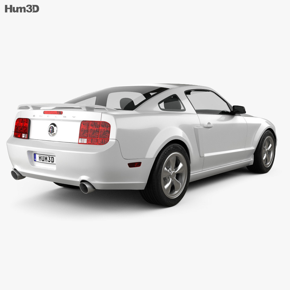 Ford Mustang Shelby GT-H 2006 3d model