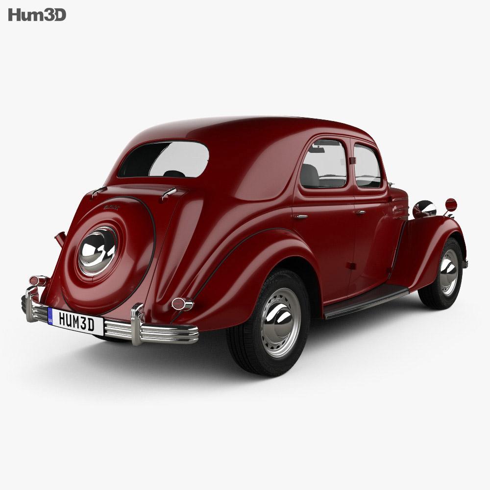 Ford Pilot 1947 3d model