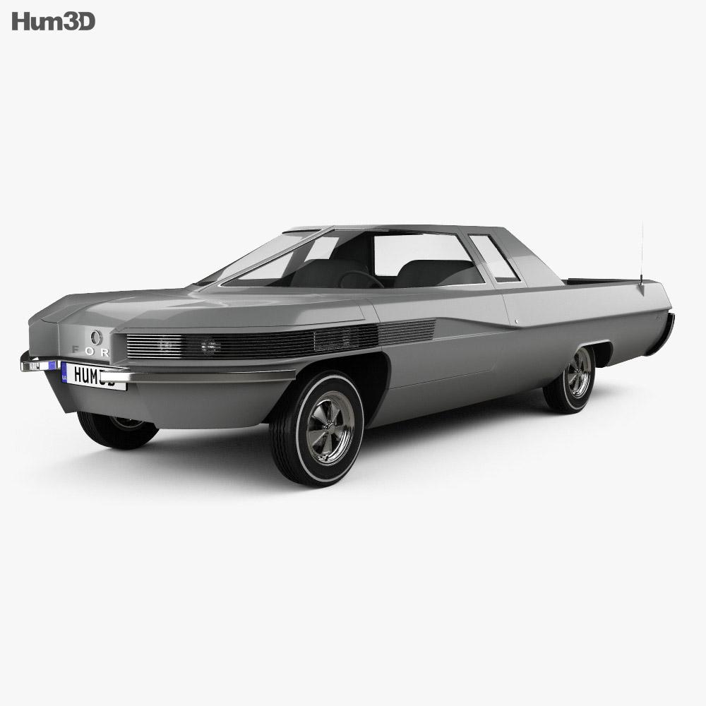 Ford Ranger II 1966 3d model