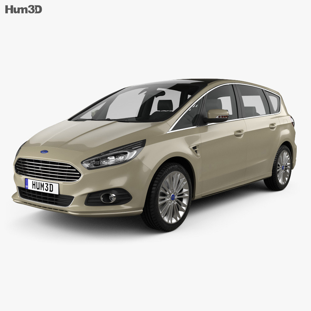 Ford S-Max 2015 3d model