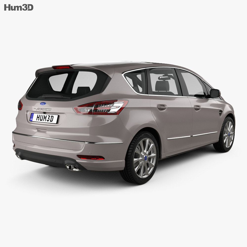 Ford S-Max Vignale 2016 3d model