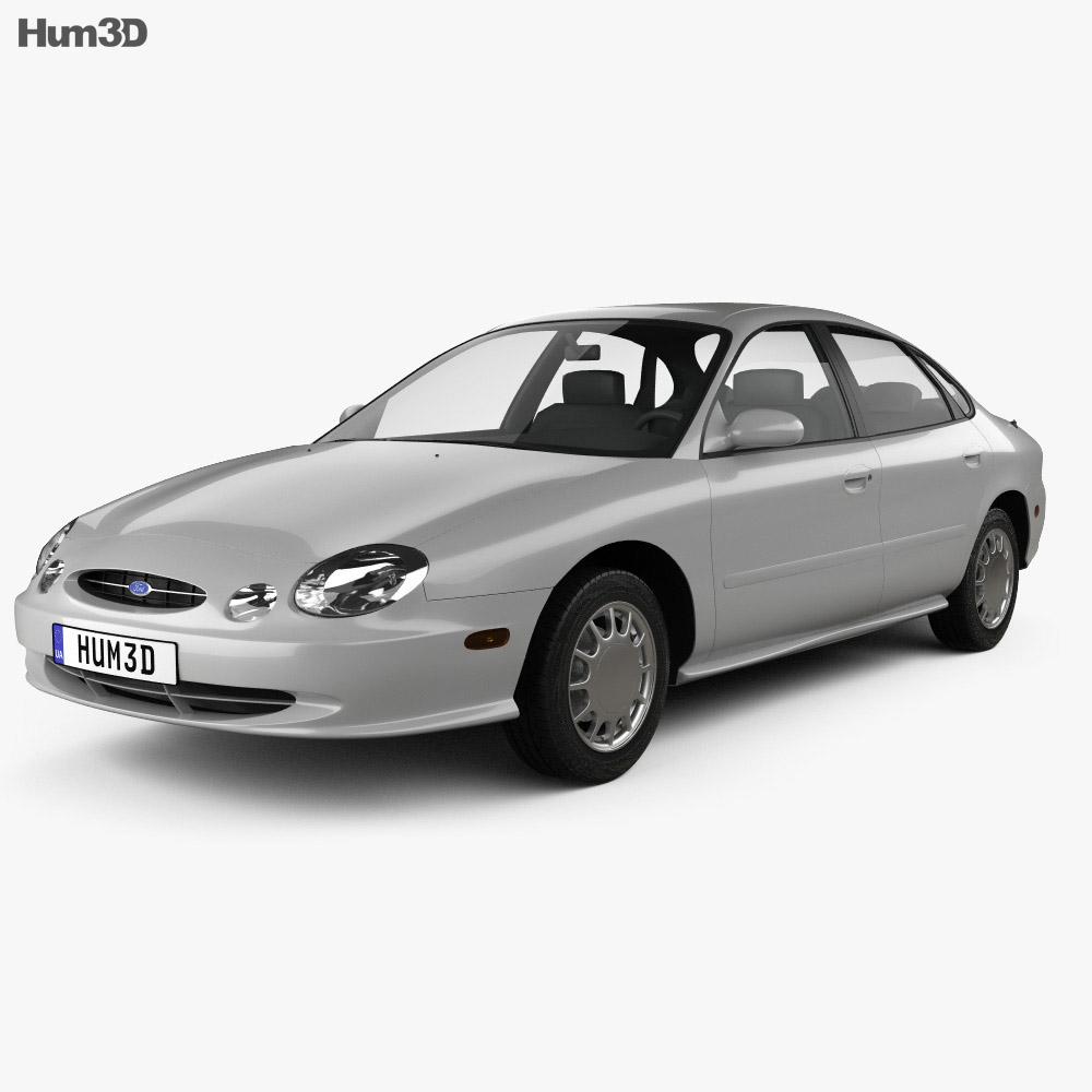 Ford Taurus 1996 3d model