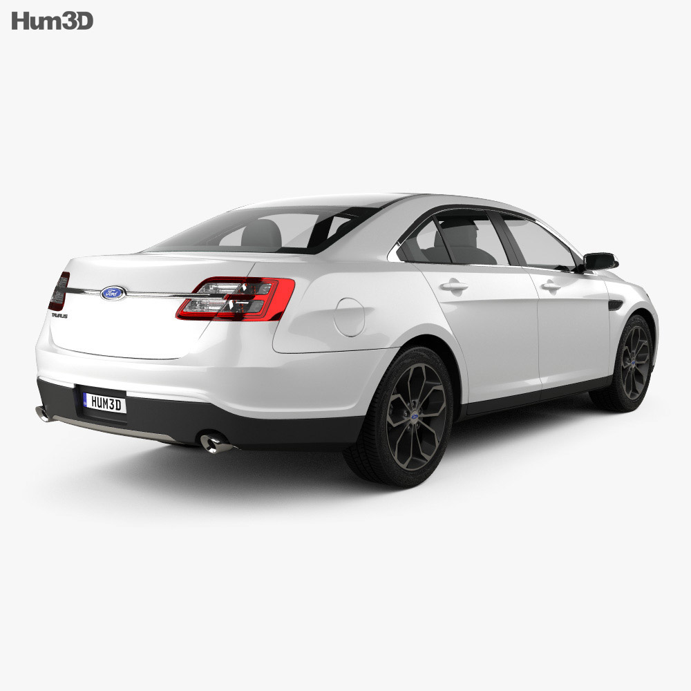 Ford Taurus SHO 2013 3d model