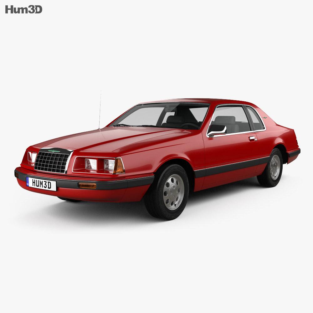Ford Thunderbird 1983 3d model