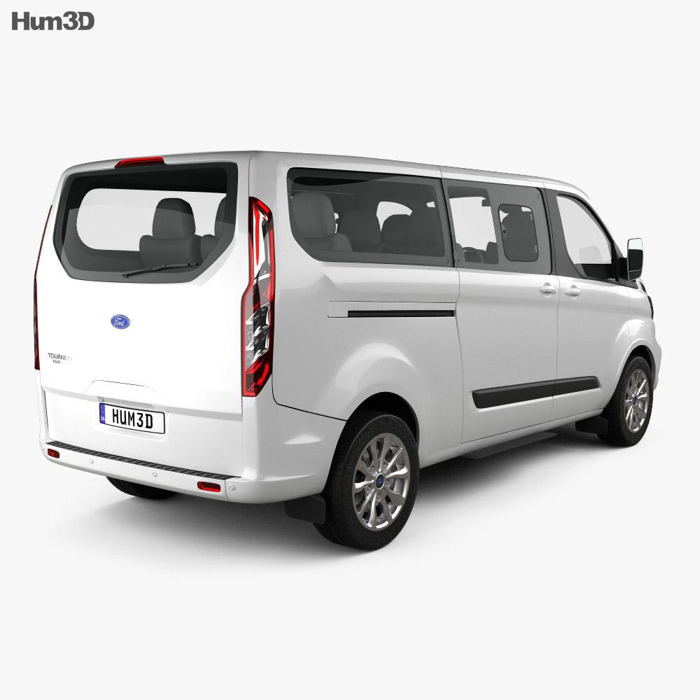 Ford Tourneo Custom L2 2017 3d model