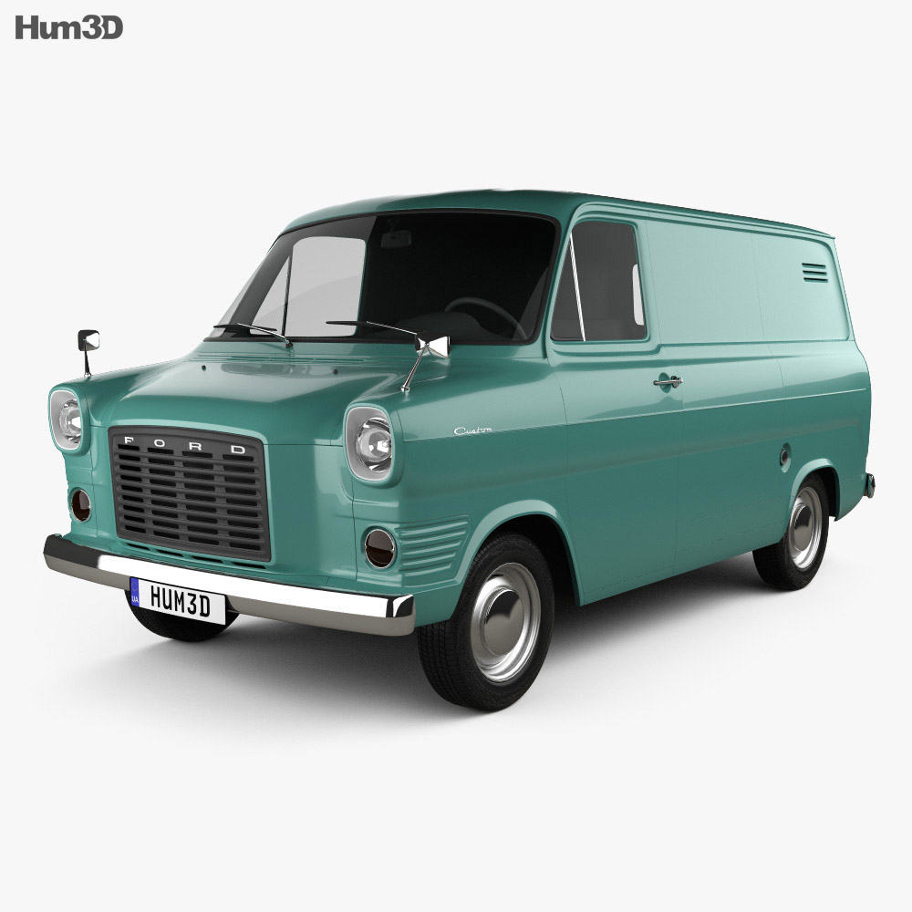 Ford Transit Panel Van 1965 3d model