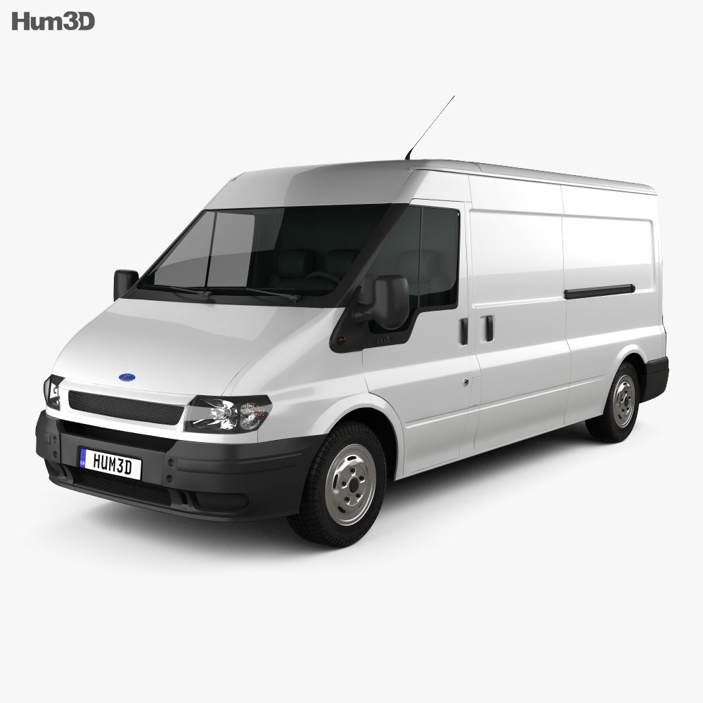 Ford Transit Panel Van 2000 3d model