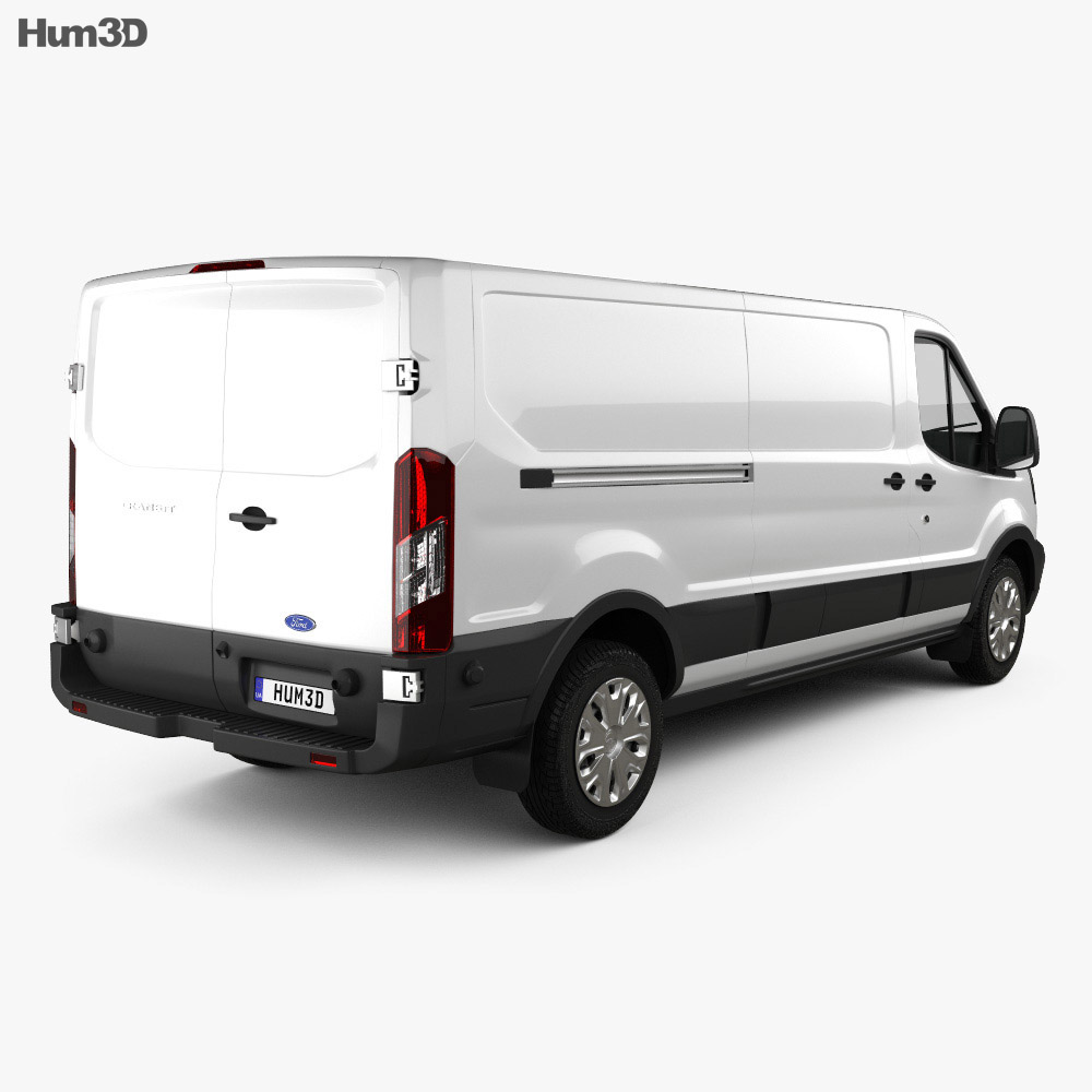 Ford Transit Panel Van L2H1 US-spec 2012 3d model