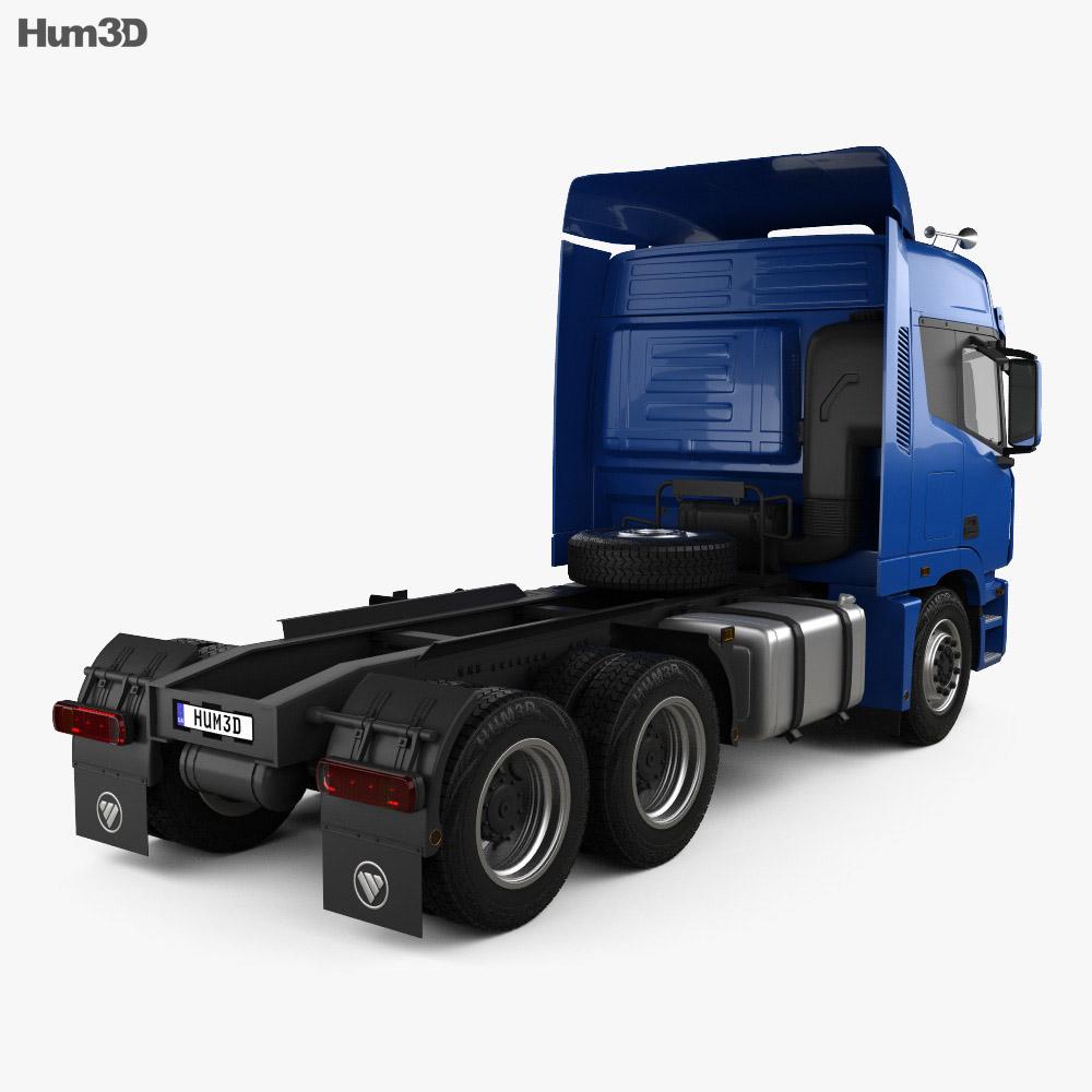 Foton Auman TL Tractor Truck 2012 3d model