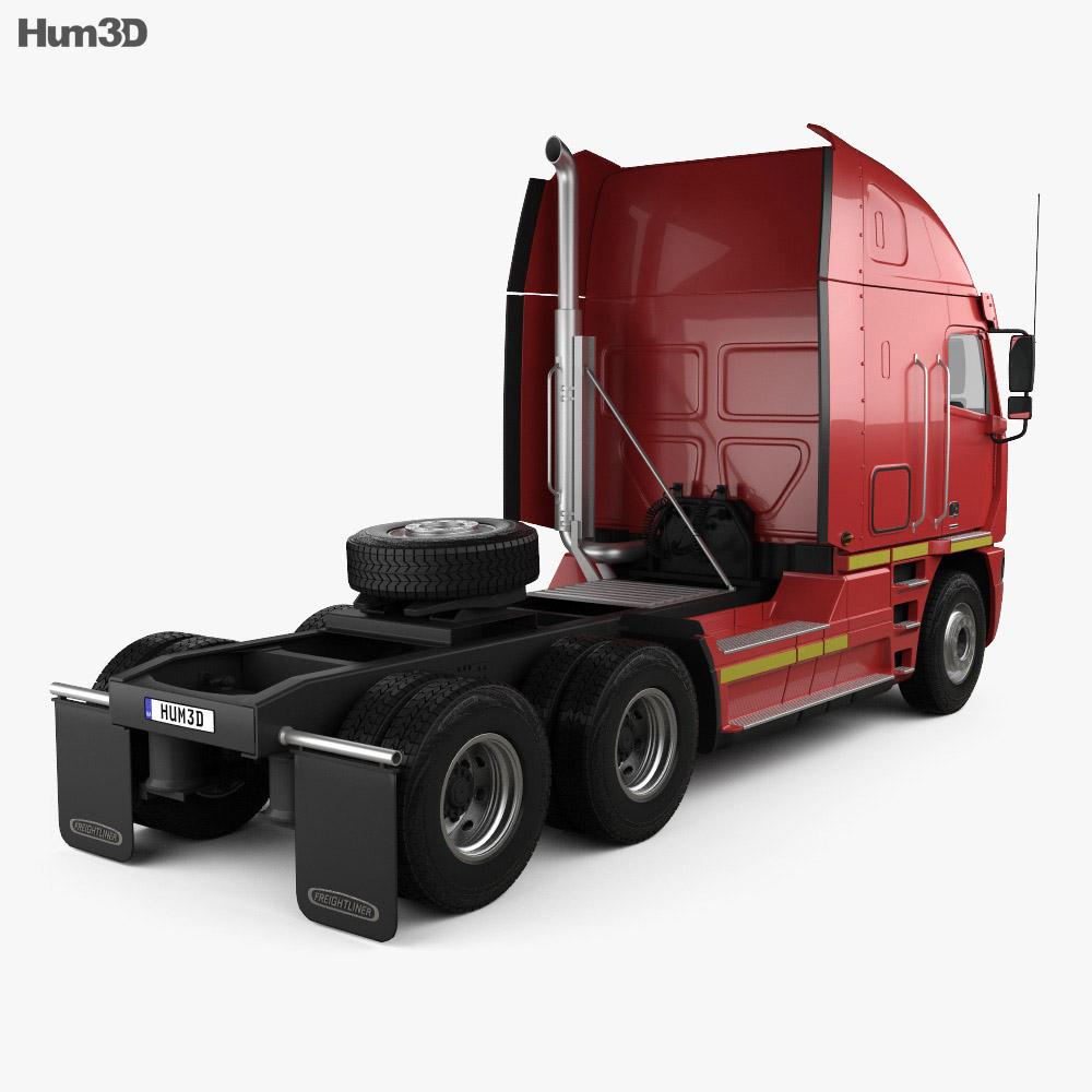 Freightliner Argosy Tractor Truck 2011 3d model