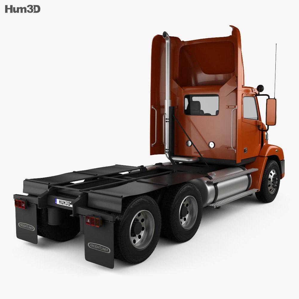 Freightliner Century Class Tractor Truck 2011 3d model