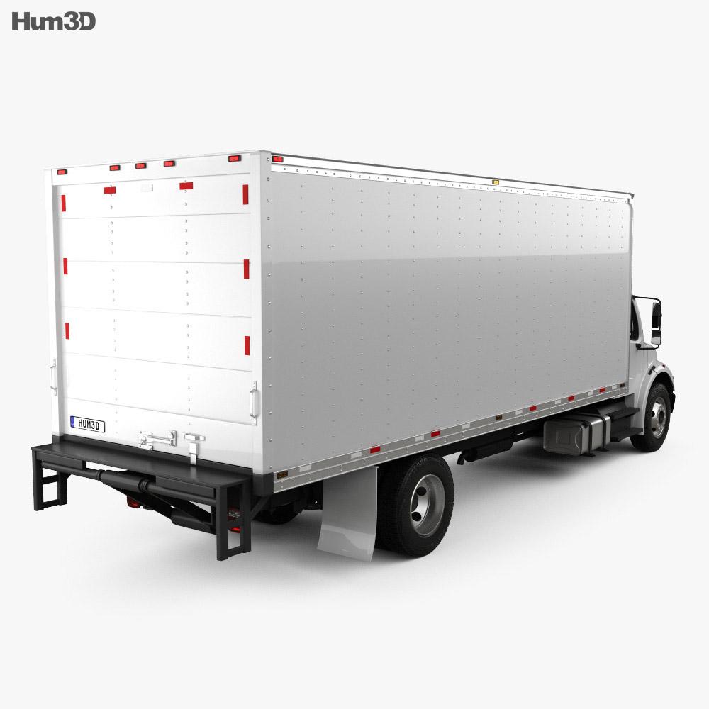 Freightliner M2 106 Box Truck 2012 3d model