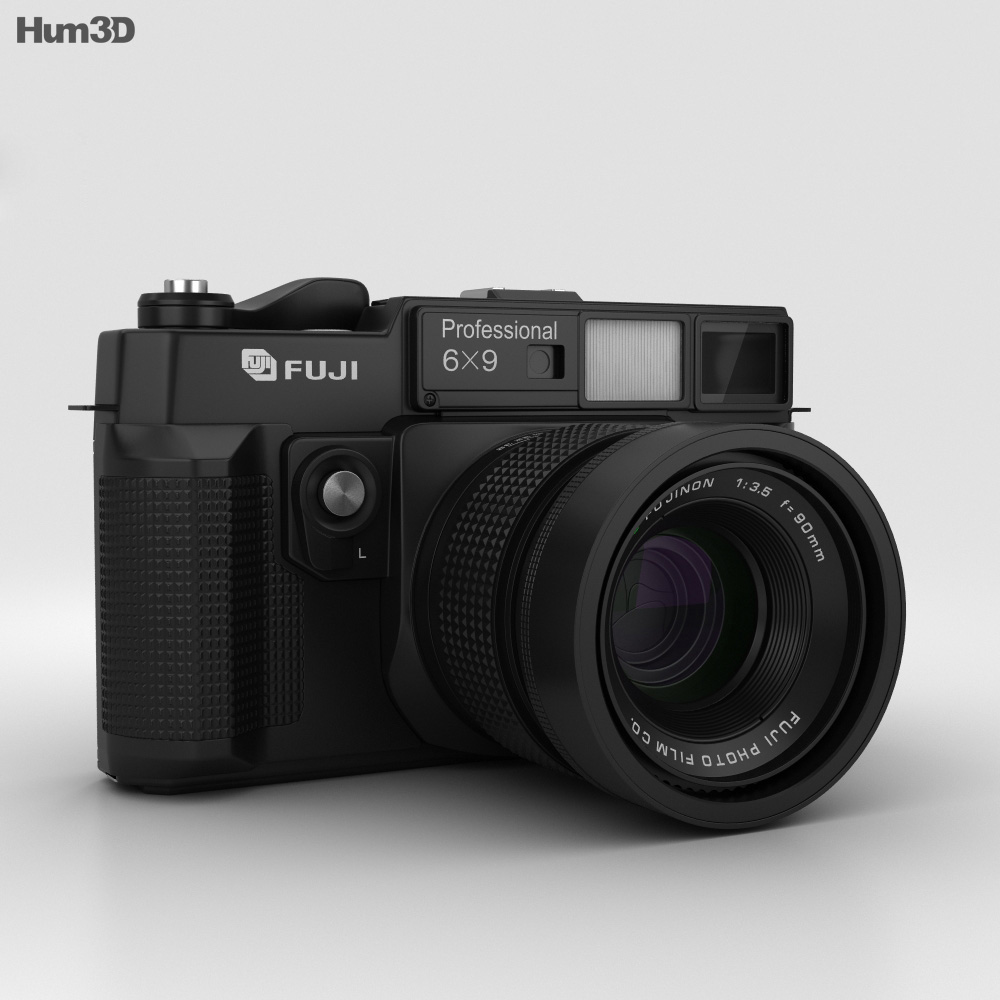 Fujifilm GW690II 3d model