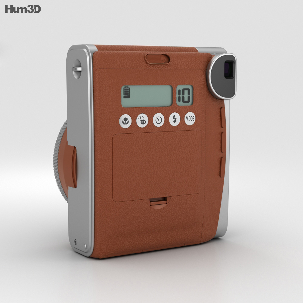 Fujifilm Instax Mini 90 Brown 3d model