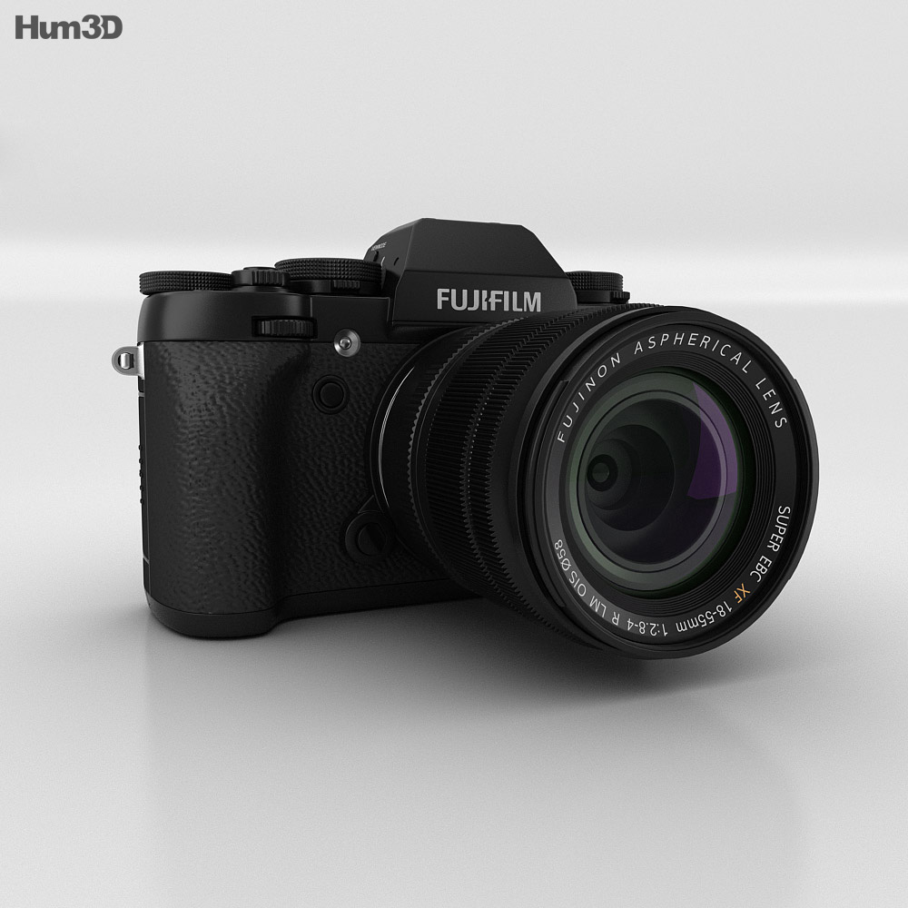 Fujifilm X-T1 Black 3d model