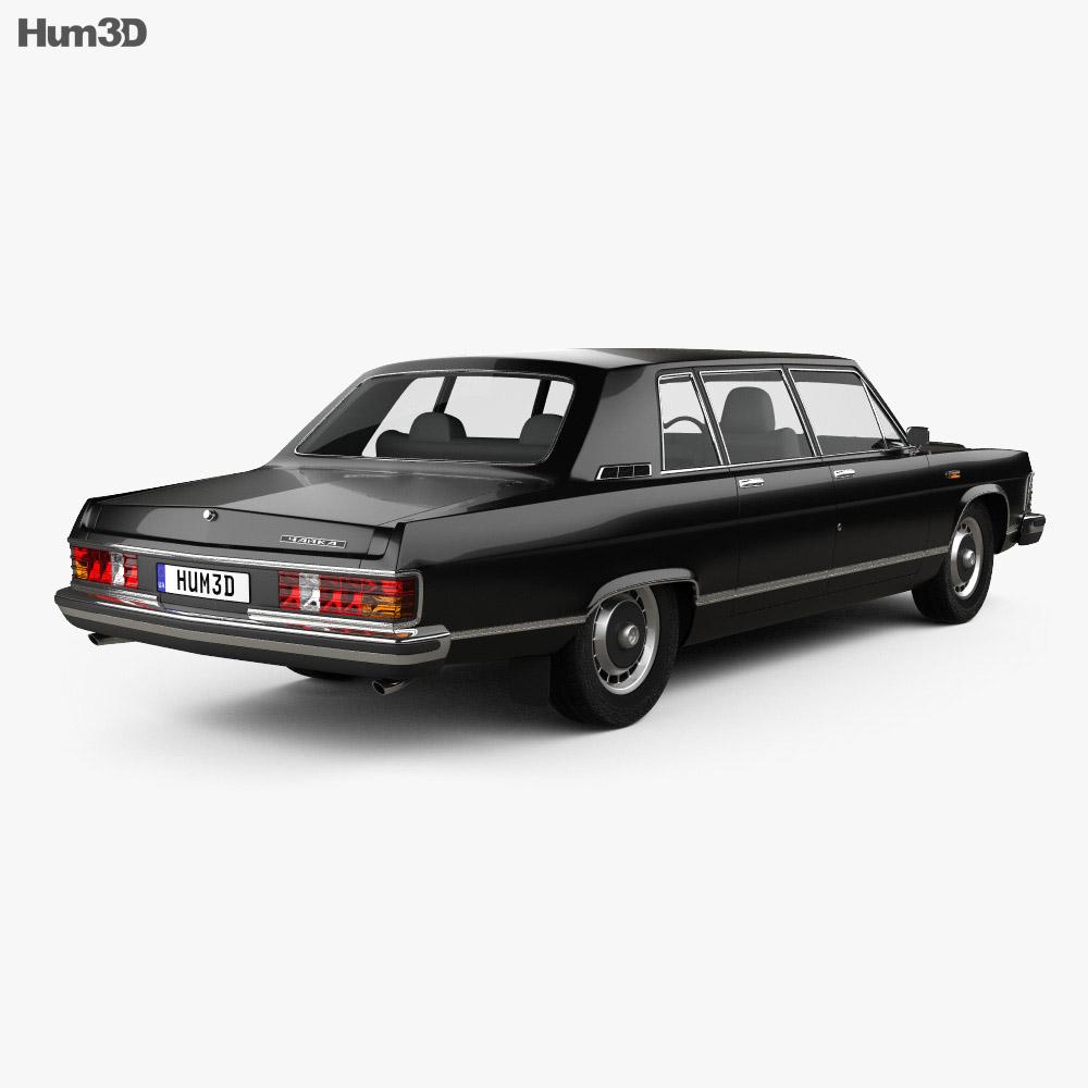 GAZ 14 Chaika 1976 3d model
