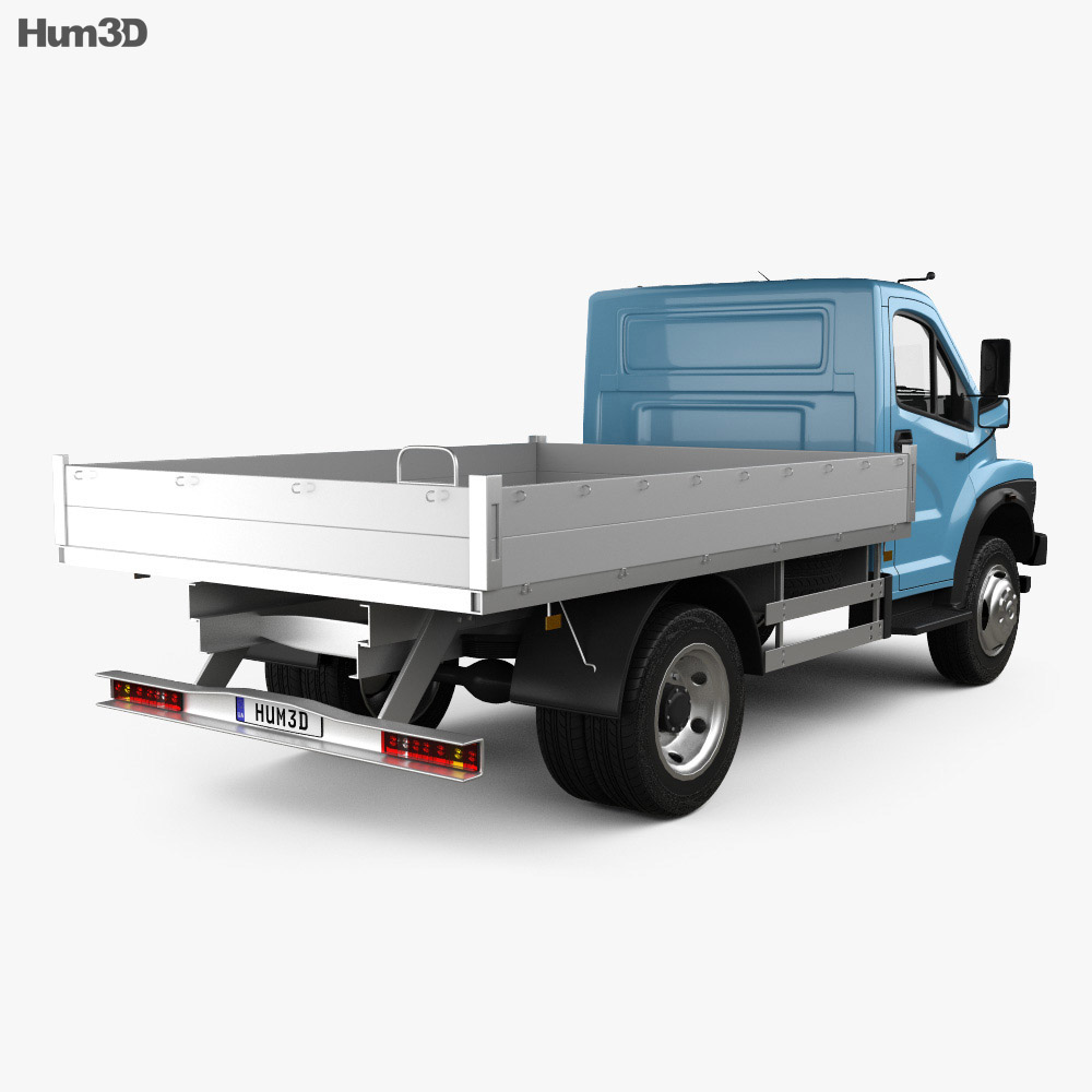 GAZ GAZon NEXT (C41R11) Flatbed Truck 2014 3d model