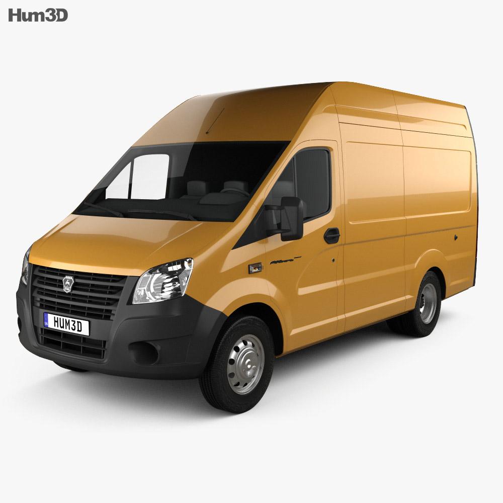 GAZ Gazelle Next Panel Van L1 2018 3d model