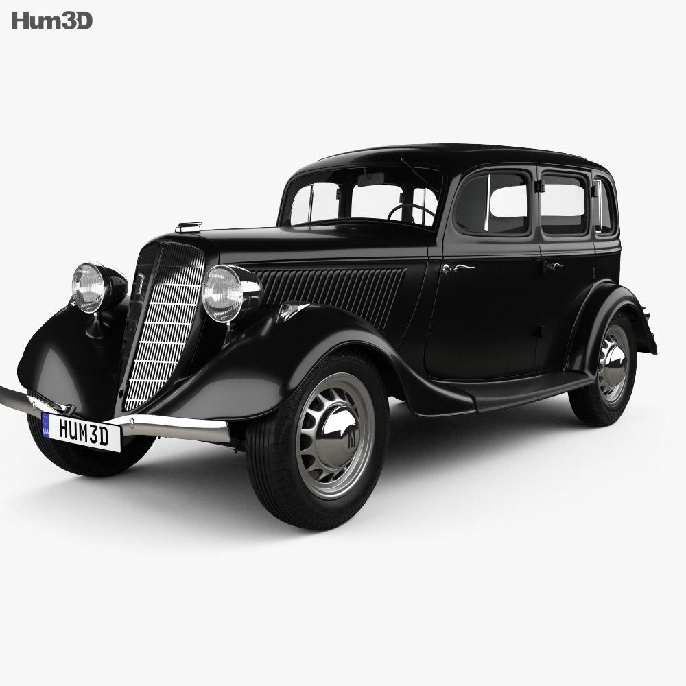 GAZ M1 1936 3d model