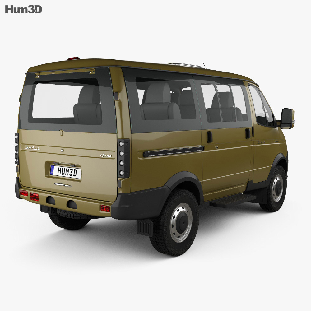 GAZ Sobol Business 2019 3d model