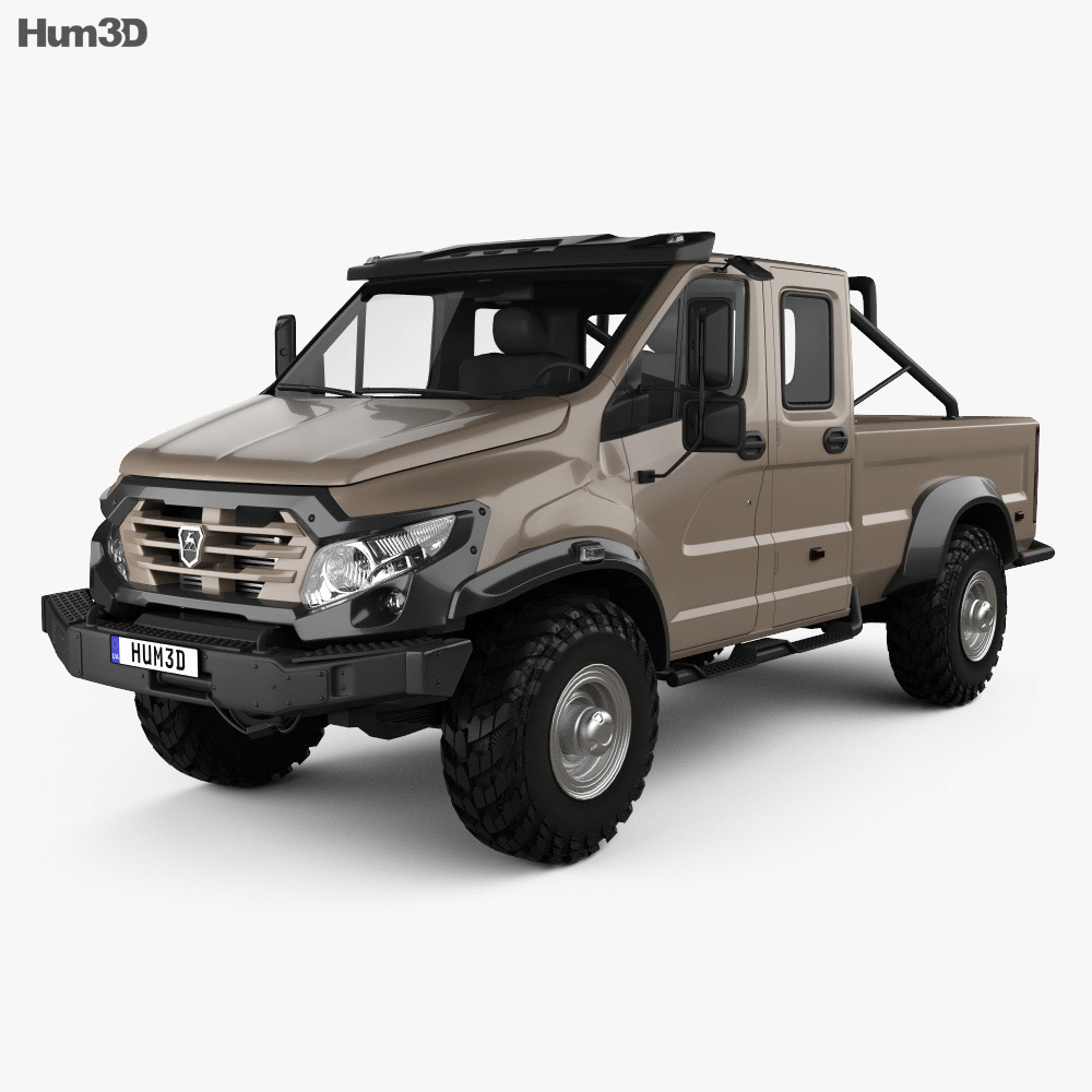 Gaz Vepr Next Double Cab Pickup Truck 2017 on power wagon parts