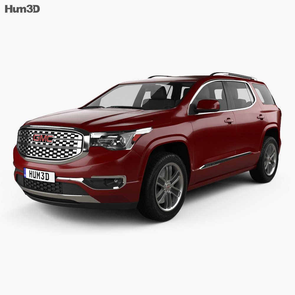 GMC Acadia Denali 2017 3d model